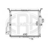 Радіатор кондиціонера / RENAULT / Артикул: KTT110520