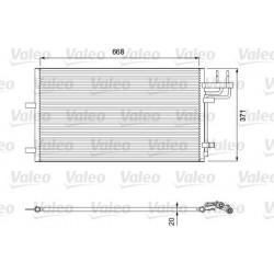 Радіатор кондиціонера / FORD / Артикул: VAL818046