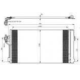 Радіатор кондиціонера / MERCEDES-BENZ / Артикул: NRF 35776
