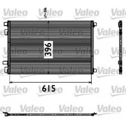 Радіатор кондиціонера / RENAULT / Артикул: VAL817608