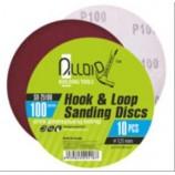 Круг шліфувальний на липучці 125мм, зерно 100 Alloid SD-25100