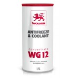 Wolver Antifreeze WG12 Red (червоний, -38C) охолоджуюча рідина 1,5 л