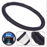 В 401 M чорна/БО/ перфорир шкіра оплітка на кермо (Vitol)