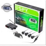 Паркувальна система SPY LP-213-NEW/LCD/4 датч. D=18mm/конектор/Radio/звук Сигнал вкл/викл./чорн./чор