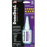 DD6643 суперклей цианокриловий індустріальний Done Deal 30г