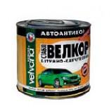 Автоантикор і quot,Велкор і quot, бітумно-каучуковий (Чорний) Velvana 0,8 кг