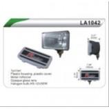 Фари додаткові DLAA 1042 W/H3-12V-55W/195*96mm/кришка