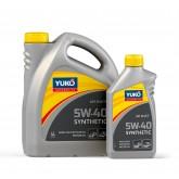 Моторна олива YUKO Synthetic 5w40 SN/CF 200 л