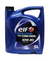 Моторна олива ELF Evolution 700 Turbo Diesel 10w40 5 л