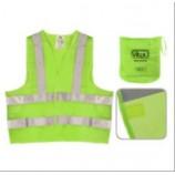 Жилетка безпечності світловідбивна зелена 116B XL ЖБ002
