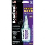 DD6643 суперклей цианокриловий індустріальний DoneDeal 30г