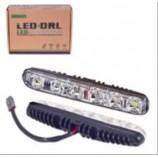 Фари дод./денного світла XS-006 DRL 16 6LED/4W/12V/пластик/190*26мм