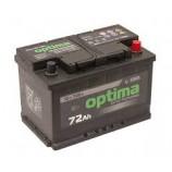 Акумулятор Optima 72Ah 720A (EN) 12V Euro R[+] низький
