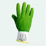 4526 Рукавиця нейлон лита зелена