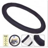 B402 XL шкіра чорна оплітка на кермо (Vitol)