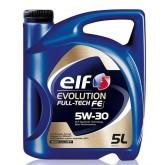 Моторна олива ELF Evolution Fulltech FE 5w30 5 л