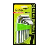Шестигранники 7од. 2,5-10мм Alloid НШ-0712
