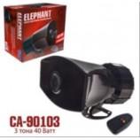 CA-90103 сигн Поліція 3-тона + мікрофон 40W