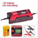 Зарядний пристрій VOIN VL-144 6-12V/0.8-4.0A/3-120AHR/LCD/імпульсн.