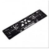 Рамка номера (UKR-05) пластик HONDA з хром.рельєфним надписом