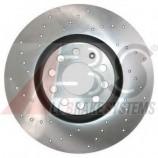 Гальмівний диск перед. (перфорований) A4 1.6-3.2i 00-08