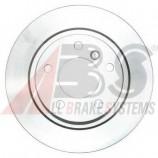 Гальмівний диск задн. BMW 1 (E81) 3 (E90) 1.6-2.0 05-12