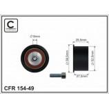 Ролик направляючий паска ГРМ (2шт на машину) Daewoo/Chevrolett/Opel 1.8-2.0