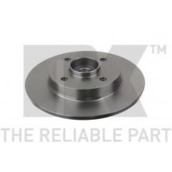 Диск гальмівний задній (з підшипником) PSA C4/307 2004- (Coated discs)