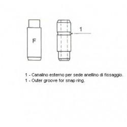 Направляюча клапана IN MB OM601-OM603 39.5X8X14.07