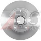 Диск гальмівний задній (без підшипника) 260x86,2 Renault Fluence, Megane III, CC, 08-